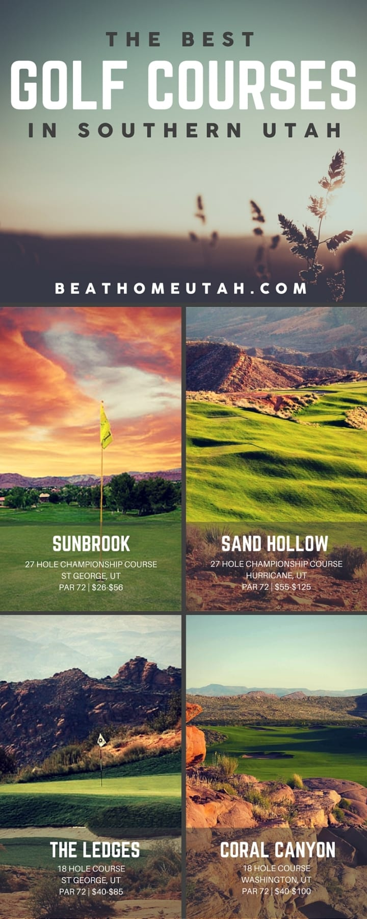 the best golf courses in st george